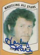 1982 Wrestling All Stars Series A and B Trading Cards Harley Race (No.8)