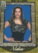 2002 WWF All Access (Fleer) Nidia 95