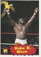 2012 WWE Heritage Trading Cards Koko B. Ware 88