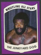 1982 Wrestling All Stars Series A and B Trading Cards Junk Yard Dog (No.5)