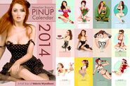 Hawaii Bryan's 2014 Socal Val Pin -Up Calendar