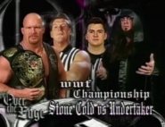 Over The Edge 1999 Stone Cold vs. Undertaker 1