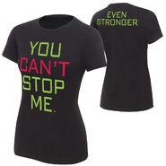 John Cena You Can't Stop Me T-Shirt women
