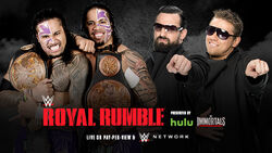 RR 15 Tag Team Championship Match