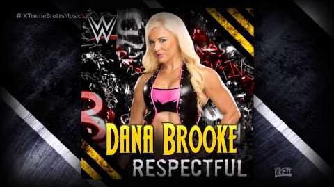 "WWE NXT ""Respectful"" iTunes Release by CFO$ ► Dana Brooke Theme Song"
