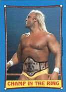 1987 WWF Wrestling Cards (Topps) Champ In The Ring 36