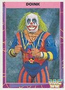1995 WWF Wrestling Trading Cards (Merlin) Doink 36