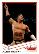 2013 WWE (Topps) Alex Riley 2