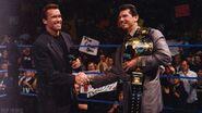 Arnold Schwarzenegger on Smackdown 1999