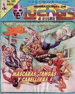 Sensacional de Luchas 343