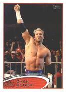 2012 WWE (Topps) Zack Ryder 19