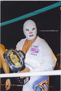 Dr. Wagner Jr. CMLL World Light Heavyweight