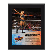 Charlotte SummerSlam 2016 10 x 13 Photo Plaque