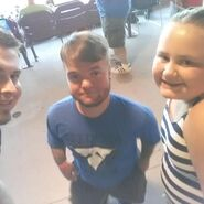 Hornswoggle Attend GFW House Show 2015 07 09 Part2
