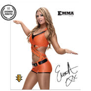 Emma Signed NXT Photo