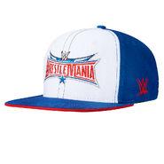 WrestleMania 32 White Snapback Hat