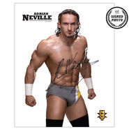 Adrian Neville Signed NXT Photo