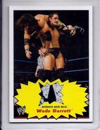 2012 WWE Heritage Trading Cards (Topps) Swatch Shirt Relics Wade Barrett