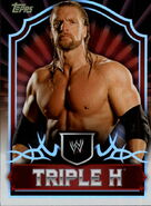 2011 Topps WWE Classic Wrestling Triple H 68