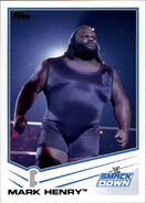 2013 WWE (Topps) Mark Henry 69