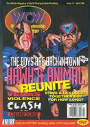 WCW Magazine - April 1996