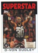 2016 WWE Heritage Wrestling Cards (Topps) D-Von Dudley 11