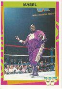 1995 WWF Wrestling Trading Cards (Merlin) Mabel 71