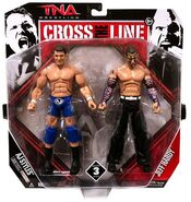 TNA Cross the Line 3 AJ Styles & Jeff Hardy