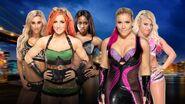 SS 2016 Six-woman tag team match