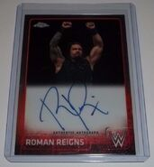2015 Chrome (Topps) Roman Reigns 10