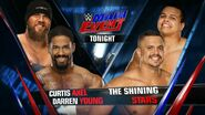 Curtis Axel and Darren Young vs The Shining Stars