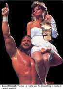 Randy Savage Elizabeth Wedding
