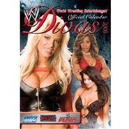 WWE Divas Calendar 2008 World Wrestling Divas official calendar
