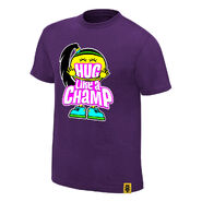 Bayley Hug Like A Champ Authentic T-Shirt