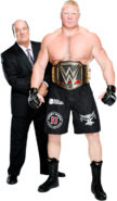 Brock Lesnar Paul Heyman 20August2014