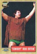 2008 WWE Heritage III Chrome Trading Cards Cowboy Bob Orton 89