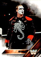 2016 WWE (Topps) Then, Now, Forever Sting 194