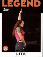 2016 WWE Heritage Wrestling Cards (Topps) Lita 89