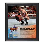 Finn Bálor SummerSlam 2016 15 x 17 Framed Plaque w Ring Canvas