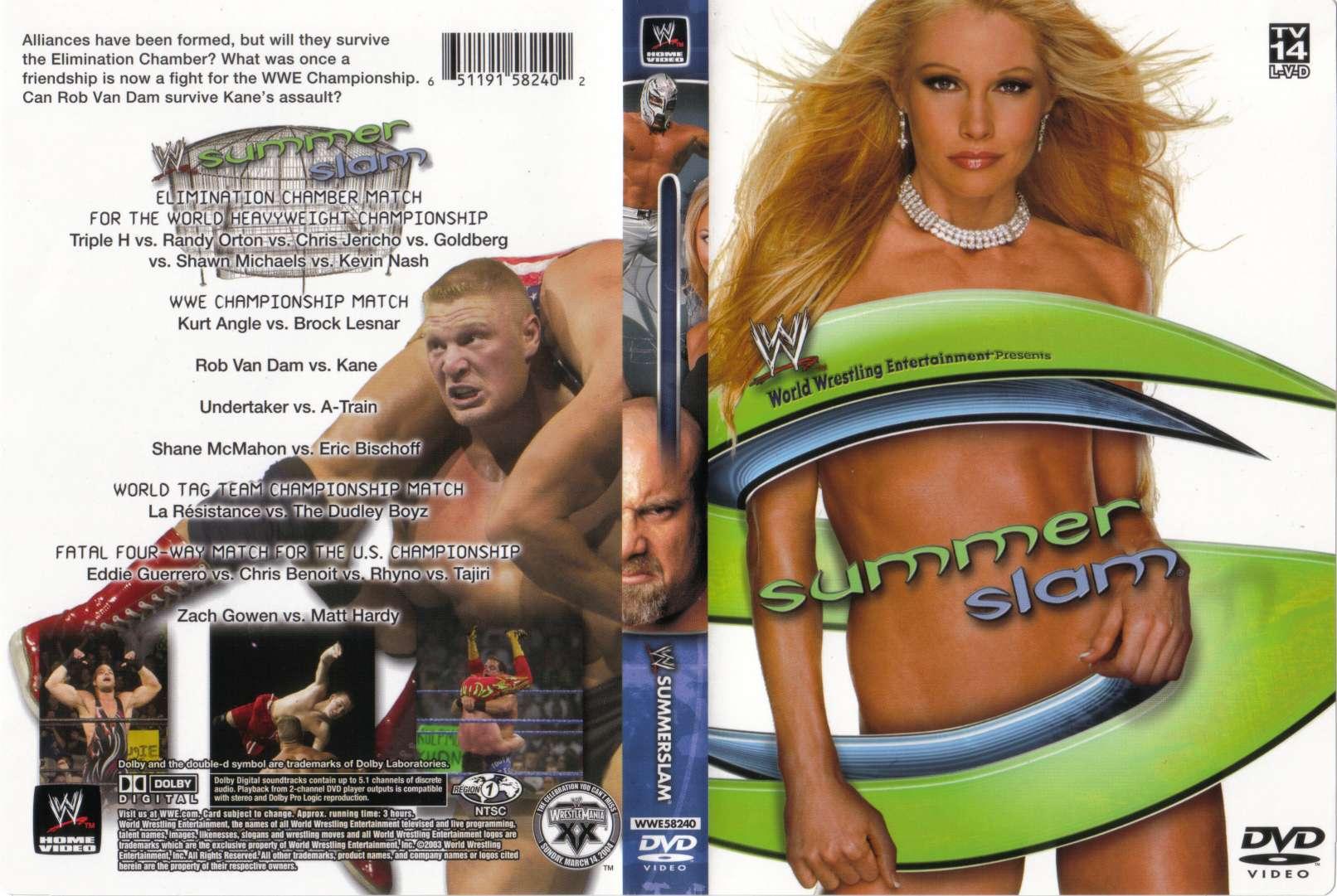 WrestleRant Edition #264: WWE SummerSlam 2003 Review - YouTube