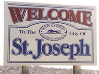 St. Joseph, MO - ''WELCOME'' SIGN