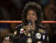 WWE-WWF Wrestlemania-IV-1988 Gladys-Knight