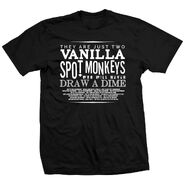 Young Bucks Vanilla Spot Monkeys Shirt