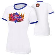 Cesaro King Of Swing womens T-Shirt