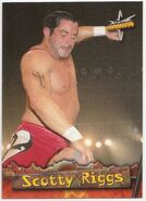 1999 WCW Embossed (Topps) Scotty Riggs 31