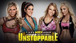 NXT Takeover Unstoppable - Charlotte & Bayley vs. Emma & Dana Brooke
