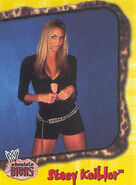 2002 WWE Absolute Divas (Fleer) Stacy Keibler 31