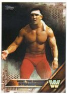 2016 WWE (Topps) Then, Now, Forever Ricky Steamboat 191