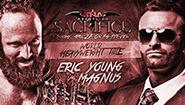 Sacrifice 2014 Young v Magnus
