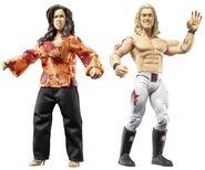 WWE Wrestling Adrenaline Series 33 Edge & Vickie Guerrero